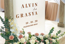 The Wedding Of Alvin & Grasya by sugarbox patisserie