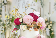 The wedding of Andrew and Olivia by sugarbox patisserie