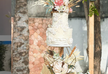 The Wedding Of Indra & Cathlin by sugarbox patisserie