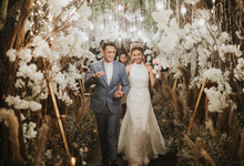 The Wedding of Gerald & Mezty by SAS designs