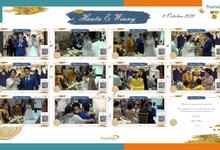Hauta & Winny Virtual Online Wedding Live Streaming Holy Matrimony by Truevindo