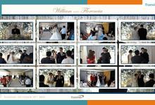 William & Florencia Virtual Online Wedding Live Streaming Holy Matrimony by Truevindo