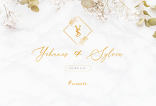#WeSaidYS Wedding Website by Artlogue Design