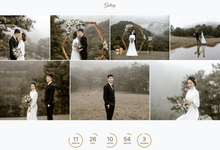 Thomas & Vivien - Bronze Package by Wedbio.com - elegant wedding website & online rsvp