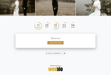 Thomas & Vivien - Bronze Package by Wedbio.com - elegant wedding website & online rsvp