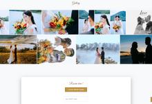 Lukas & Fanny - Silver Package by Wedbio.com - elegant wedding website & online rsvp