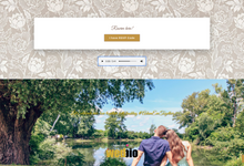 Adam & Evi - Gold Package by Wedbio.com - elegant wedding website & online rsvp