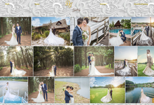 Axel & Wina - Platinum Package by Wedbio.com - elegant wedding website & online rsvp