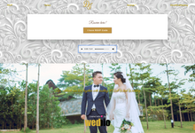 Axel & Wina - Platinum Package by Wedbio.com - elegant wedding website & online rsvp