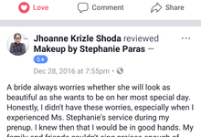CLIENTELE'S FEEDBACKS (unsolicited) by Makeup by Stephanie Paras