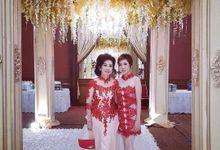 Cheongsam/Sangjit dress by The Garten