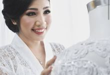 Traditional wedding project by Kezia Evelina Larisa Makeup Artist