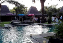 Wedding Event At Bali Ethnic Villas, Ayana Resort by Urban Groove