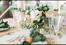Romantic Elopement by Firefly Weddings & Events