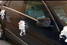 Wedding Car Decor (Shireen♡Daniel) by Dorcas Floral