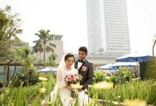 Wedding Vino Dan Shirly by nanami florist