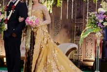 Beautiful BRIDE & Handsome Groom by TALISHA