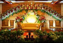 Tampilan Acara Pernikahan Thalya by Bunga Catering
