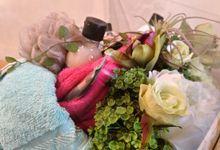 Hantaran Pernikahan Agum dan Rini by Hana Seserahan