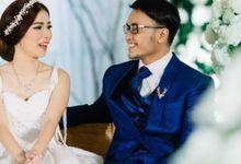 Mr.Ong Franz Valentino & Mrs.Vina Setiawan by Ventlee Groom Centre