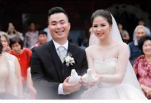 Mr. David & Mrs. Eva Wedding by Ventlee Groom Centre