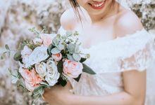 Pre Wedding Bouquet by Masale Flower