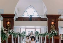 William & Amelia Bali Wedding by LITTLE BRIDE