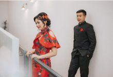 Mr. David & Mrs. Dina Engagement by Ventlee Groom Centre