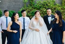 Mr. Tommy & Mrs. Lydia Eva by Ventlee Groom Centre