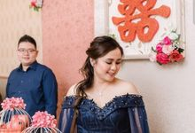 Engagement Sangjit event by Lie Yenti MUA