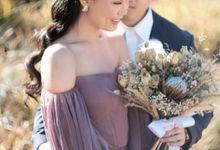 Sandra & Jon Prewedding by Frisch Florist