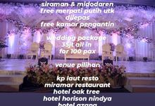 paket wedding promo by Point One Wedding Organizer