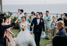 The wedding Of Max & sheilla by Miracle Wedding Bali