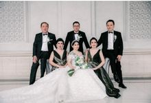 Mr. Christian & Mrs. Juventia Wedding by Ventlee Groom Centre