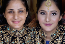 Indian clients by SEKA Makeup Artist