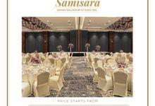 OUR VENUE - SAMISARA GRAND BALLROOM by Alissha Bride