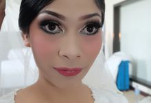 Wedding of Nathalia & Fabian by Dinda Zeda Make Up