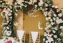 The Wedding of Selvy & Moussa by Elior Design