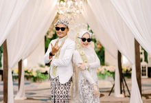 Wedding kokoon hotel @della & @fajar by semutdecor