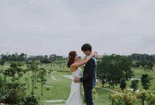 Wedding By The Lake at Sentosa by Sentosa Golf Club