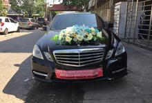 Mercy E250 untuk Putri Jenderal TNI AL Surabaya by SENTOSA JAYA VIP WEDDING CARS SURABAYA