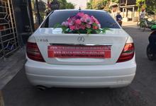 Rental Mercy Putih C200 Wedding Chita and Alif  by SENTOSA JAYA VIP WEDDING CARS SURABAYA