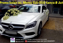 Mercedes Benz CLS 350 White for Wedding Surabaya by SENTOSA JAYA VIP WEDDING CARS SURABAYA