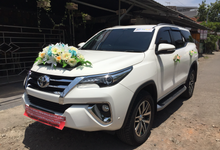 Rental Sewa Fortuner Surabaya VRZ New Model by SENTOSA JAYA VIP WEDDING CARS SURABAYA