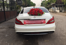 Rental Mercy CLS mobil pengantin sport Surabaya by SENTOSA JAYA VIP WEDDING CARS SURABAYA