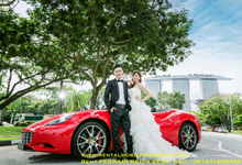 Rental dan Sewa FERRARI Surabaya RED 4 Seat by SENTOSA JAYA VIP WEDDING CARS SURABAYA