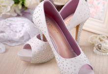 Sepatu Peeptoe Adamant Silver by SLIGHTshop.com