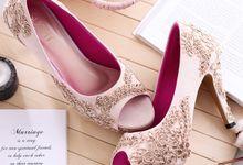 Sepatu Pointed Cecilia Putih by SLIGHTshop.com