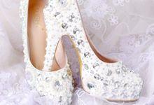 Sepatu Platform Belleza Putih by SLIGHTshop.com