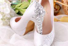 Sepatu Platform Luminous Silver by SLIGHTshop.com